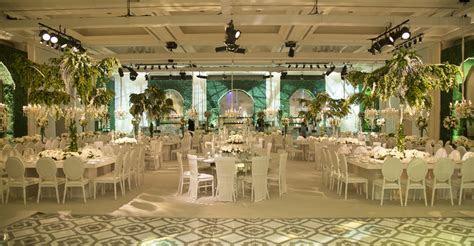 "Inside The ""Summer Garden Wedding"" of Farah Al Rayyan and"