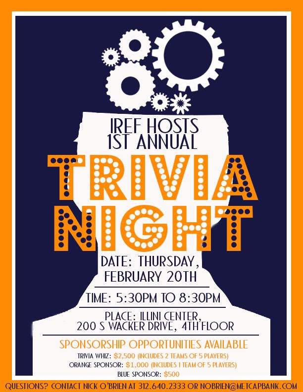 Trivia Night Flyers | Designs and Photography by Kristin Hudson ...