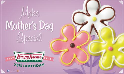 Krispy Kreme Mother's Day Flower Doughnuts