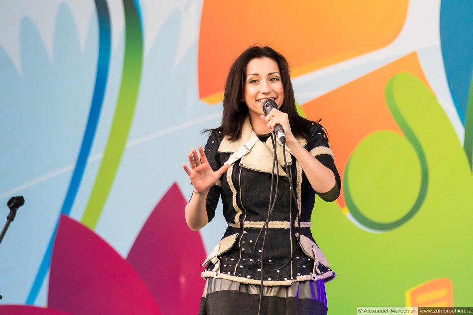 Солистка Мураками Диляра Вагапова на фестиваля FIFA Fan Fest в Саранске