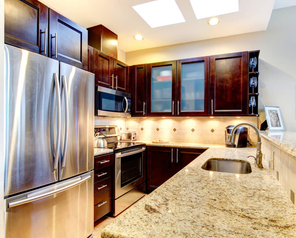 Kitchen Design Ideas Dark Cabinets  Kitchen Sohor