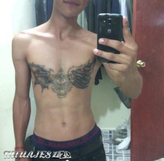 Alas De ángel Y Demonio Tatuajes 123