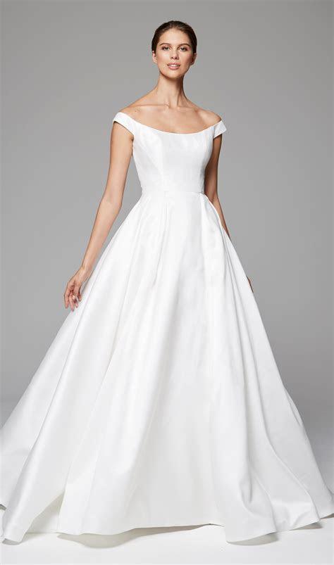 Simple Sleeveless Ball Gown Wedding Dress   Kleinfeld Bridal