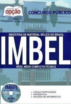 Apostila Concurso Indústria de Material Bélico do Brasil Imbel - 2016.