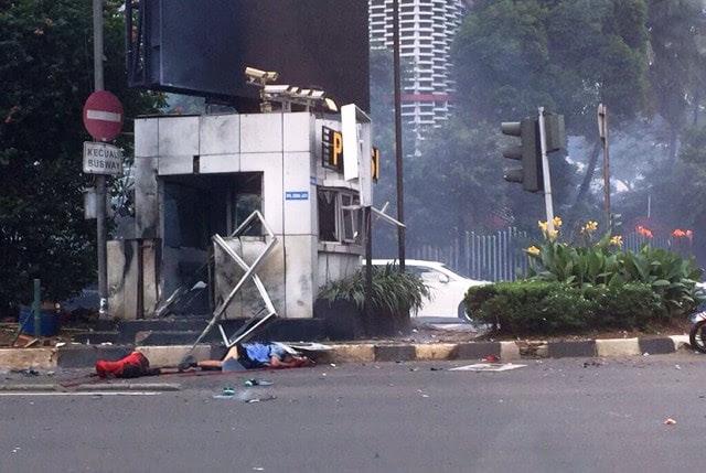 Bom Meledak di Pos Polisi Sarinah