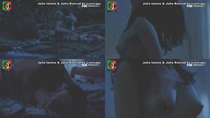 Julia Ianina e Julia Konrad nuas na serie 1 contra todos