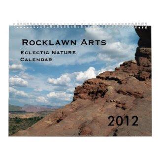 Eclectic Nature Calendar 2012 calendar