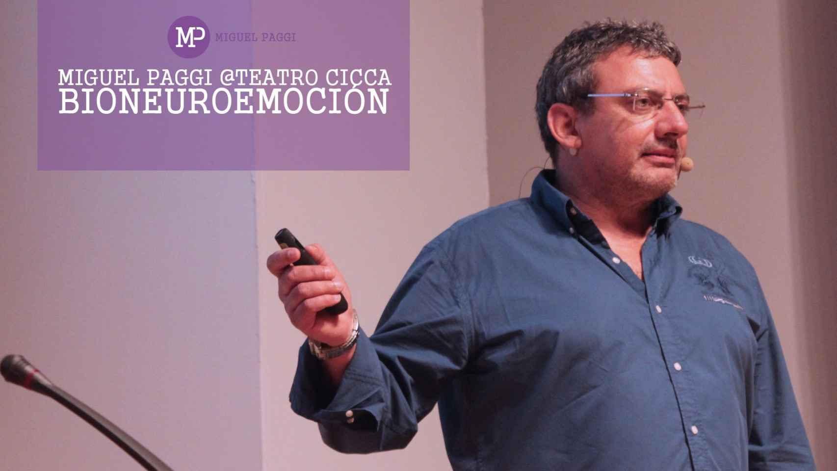 Miguel Paggi. Difunde la bioneuroemoción y la Nueva Medicina Germánica.