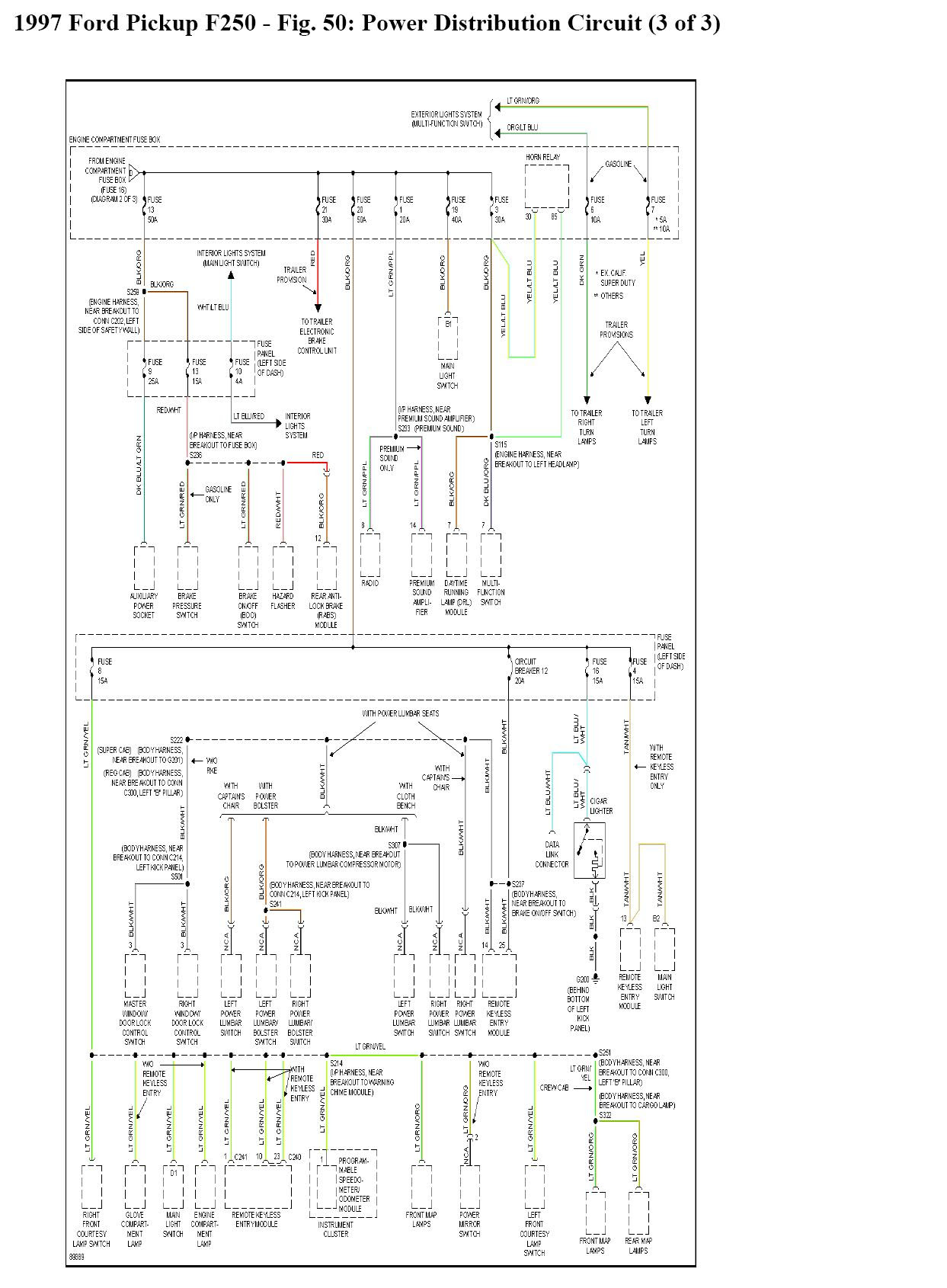 1219c7d 2000 Ford Excursion Wiring Schematic Wiring Library