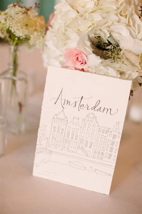 20 Travel Table Name Ideas You?ll Love   CHWV   Weddings