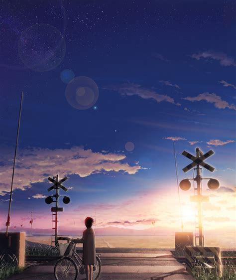 paisaje anime tumblr