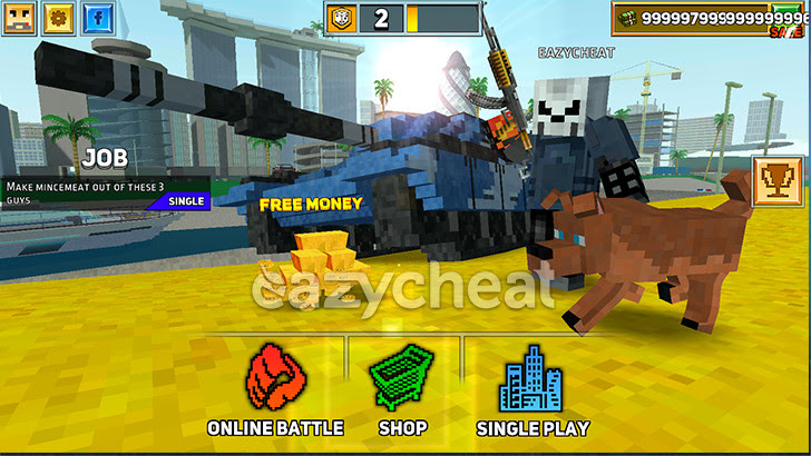 Block City Wars v4.4.2 Cheats