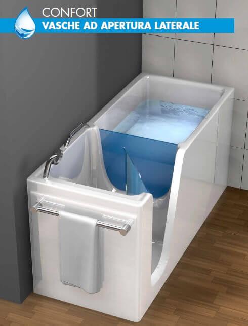 Vasche Remail con sportello - Per anziani e disabili