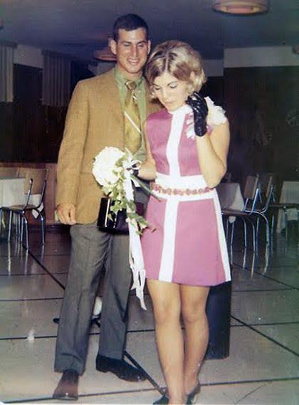 (found photo) vintage wedding