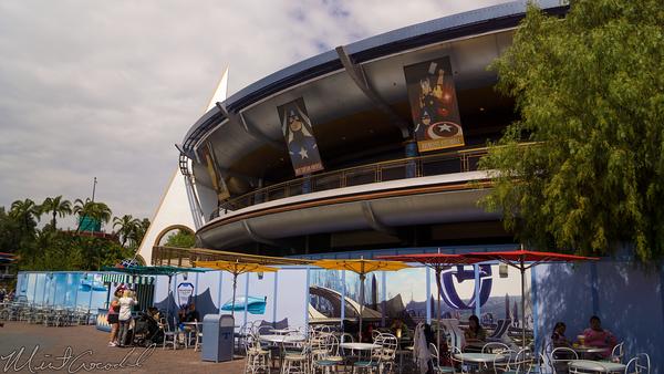 Disneyland Resort, Disneyland, Tomorrowland, Movie, Innoventions, Refurbishment, Refurbish, Refurb, Wall