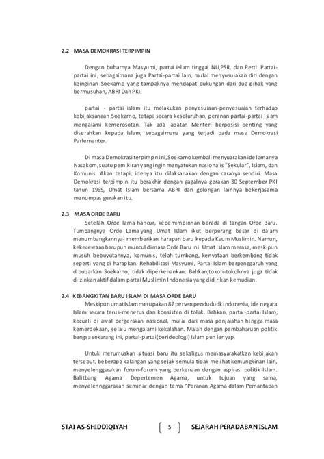Makalah islam indonesia zaman modern dan kontemporer