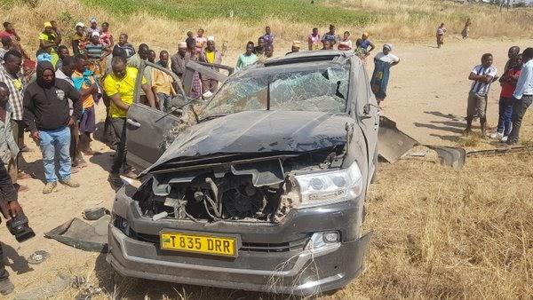 Waandishi wa Global TV, Dar Mpya wanusurika kifo katika ajali