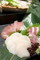 築地直送とれたて鮮魚三種盛り, 個室風情 かざがぐるま, 渋谷