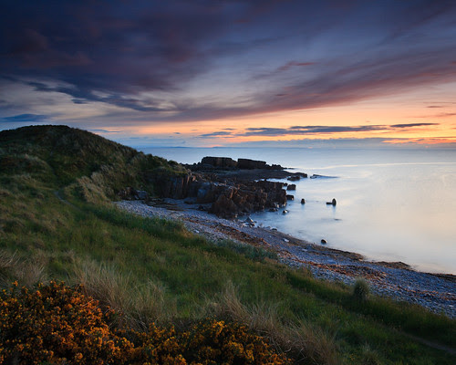 In the gloaming at Hopeman by chris_thomson_1274