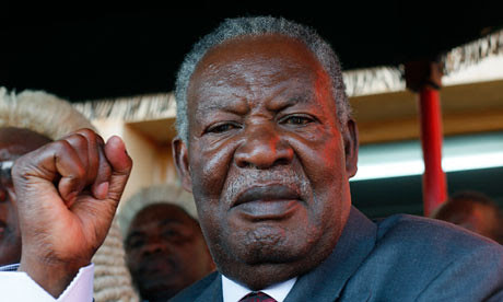 Michael Sata, the newly-elected president of the Southern African nation of Zambia, won office in a stunning result from the national polls. Sata heads the Patriotic Front Party which defeated Rupiah Banda. by Pan-African News Wire File Photos