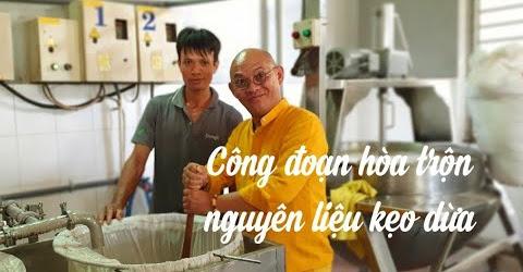 VN Unknown #47: Kẹo dừa Bến Tre P2| Tận mắt xem ép hòa nước cốt dừa tại xưởng kẹo dừa cô Hai Tỏ