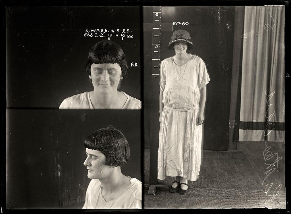 photo police sydney australie mugshot 1920 07 Portraits de criminels australiens dans les années 1920  photo photographie histoire featured art