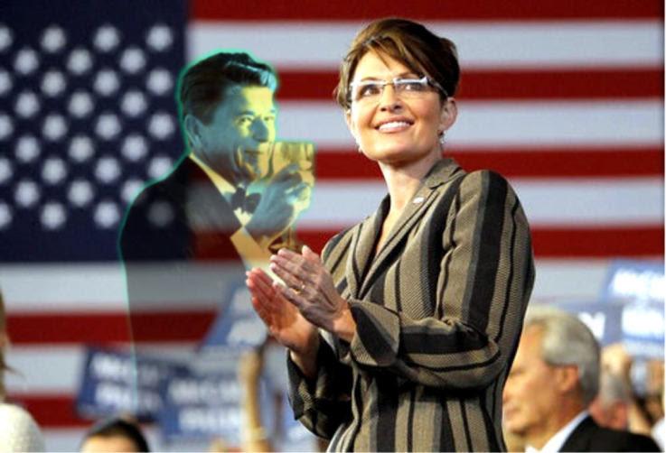 Reagan Toasting Sarah