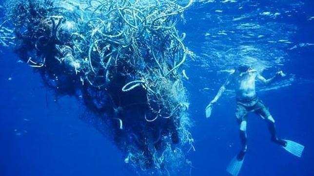 El «séptimo continente»: un basurero flotante en el Pacífico