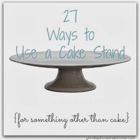 174 best images about Cake Plates DIY on Pinterest