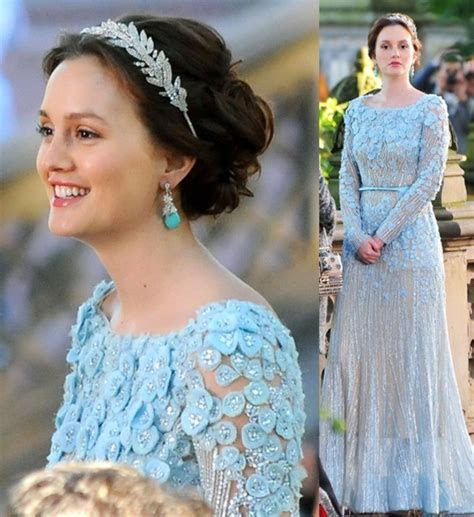 Dress: elie saab, elie saab, blair waldorf, gossip girl
