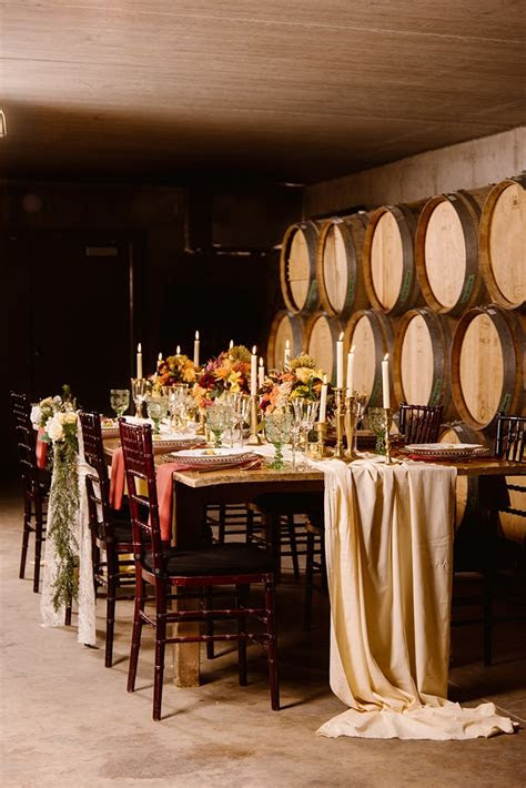 vintage vineyard fall wedding inspiration glamour grace