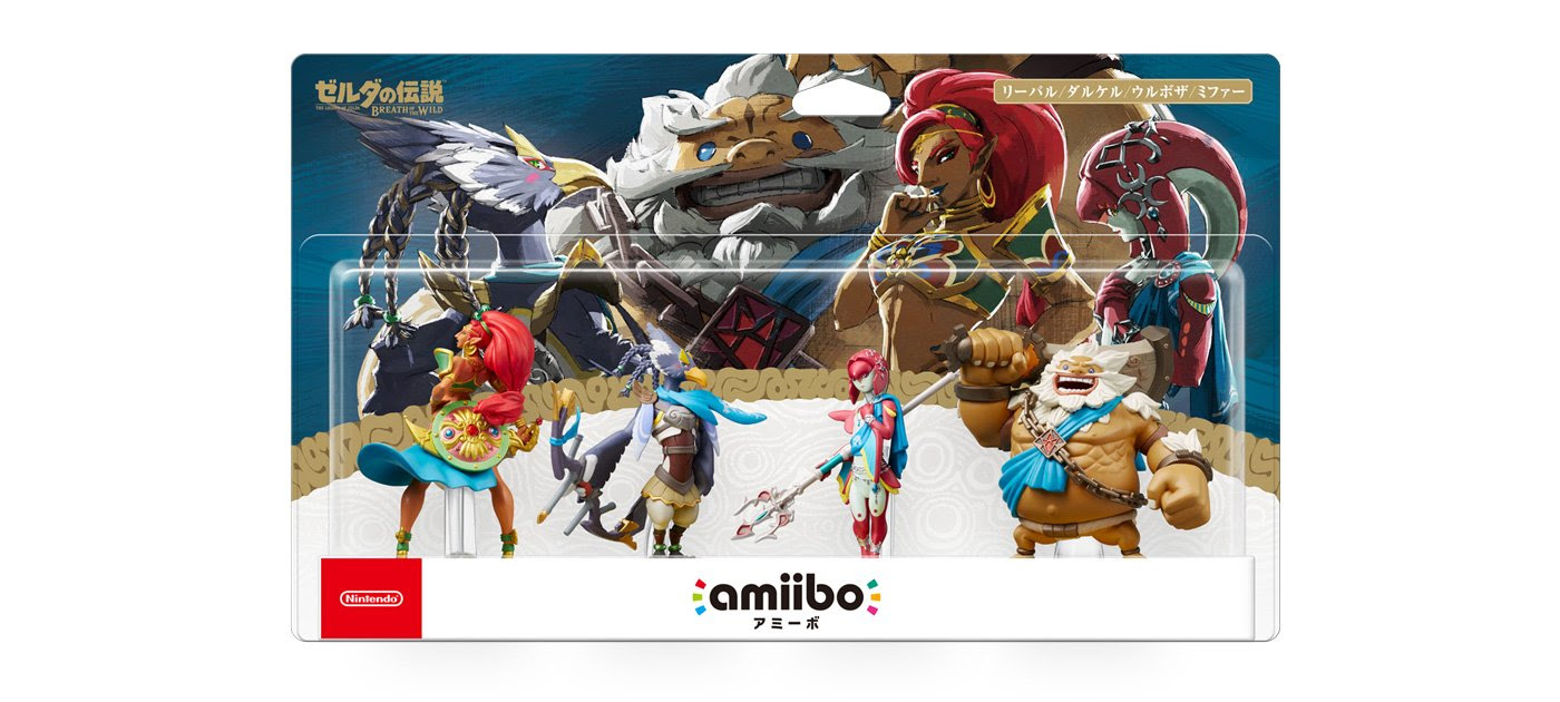 Japan is getting a four pack for the new Breath of the Wild amiibo screenshot