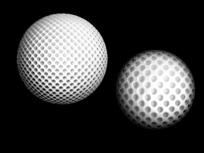Creating a Golf Ball Tutorial: Final Result