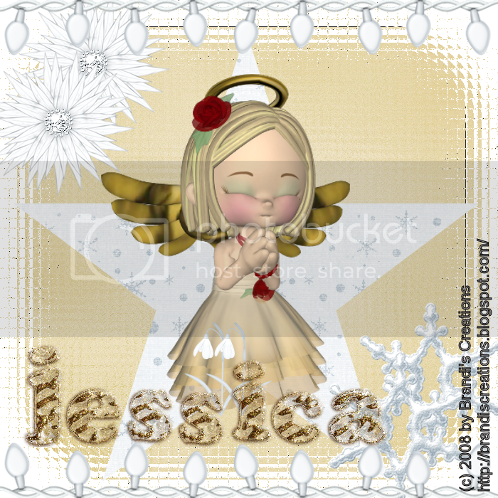 Angels & Devils,Doll,Holiday Glitter,Happy Holidays,Kids Tags