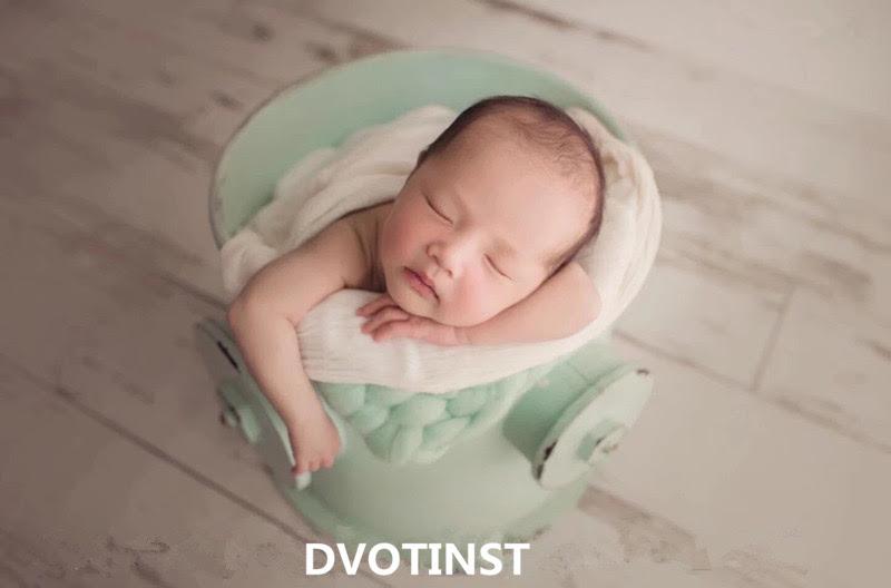 2019 Dvotinst Newborn Photography Props Iron Creative Posing Bucket