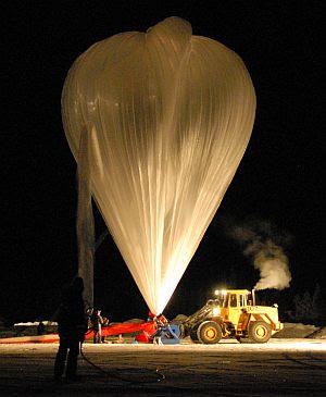Die Atmosphärenforschungen über Nordskandinavien mit einem ballongetragenen Infrarot-Spektrometer bestätigen die bestehenden Modelle der polaren Ozonchemie. (Foto: MIPAS-B-Team, KIT)
