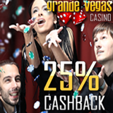 Grande Vegas Casino Now Giving 25 Percent Cashback on Casino Deposits