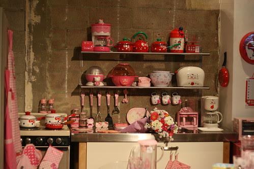 HK Historical Exhibit - Hello Kitty Three Apples Party