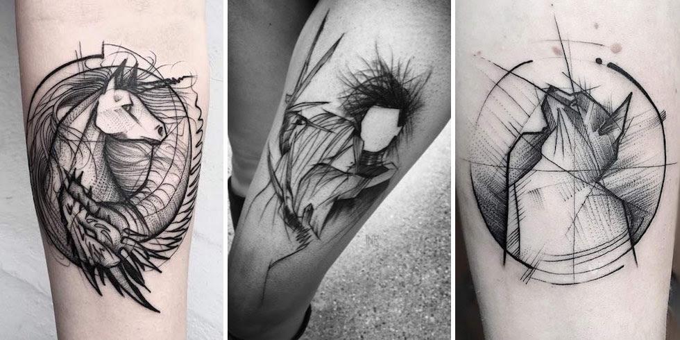 40+ Fascinating Sketch Style Tattoo Designs - TattooBlend