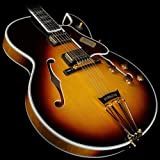 Gibson Custom Shop HSBYFVSGH1 Hollow-Body Electric Guitar, Vintage Sunburst
