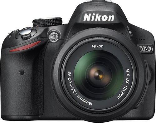 Nikon D3200 24.2-Megapixel Digital SLR Camera, DSLR, Digital Camera