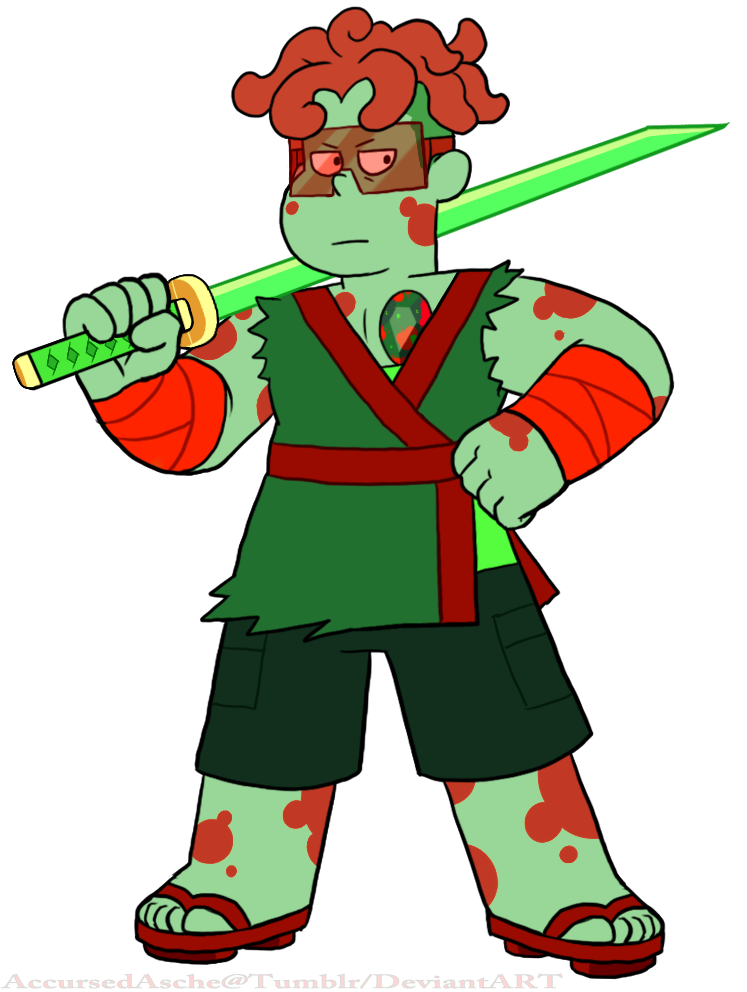 Hey look its Ronaldo Bloodstone! ;) @keepbeachcityweird​ @cartoonnetwork​