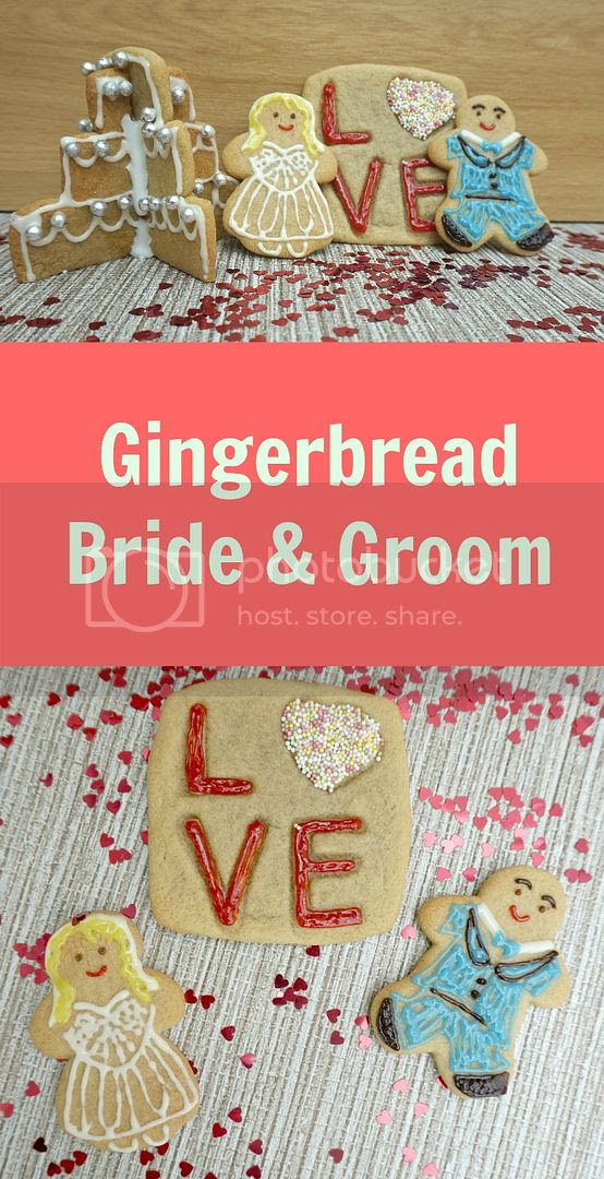 Gingerbread Bride and Groom