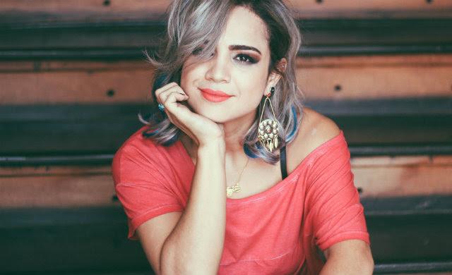 Daniela Araújo lançou o primeiro disco, com o nome dela, em 2011. Foto: Site Oficial/Reprodução
