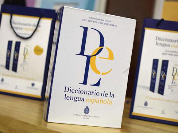 El diccionario digital de la RAE recibirá 3.345 modificaciones entre nuevas palabras y cambios de acepciones ya recogidas. Foto: EFE.