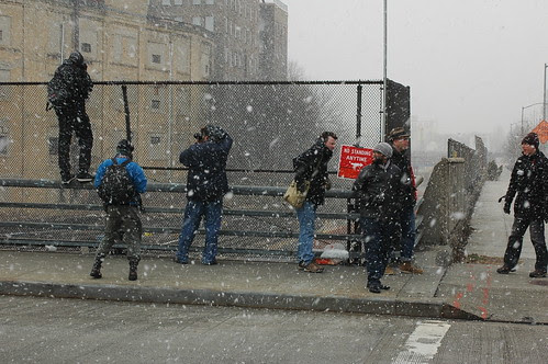 Photographers in a Flurry