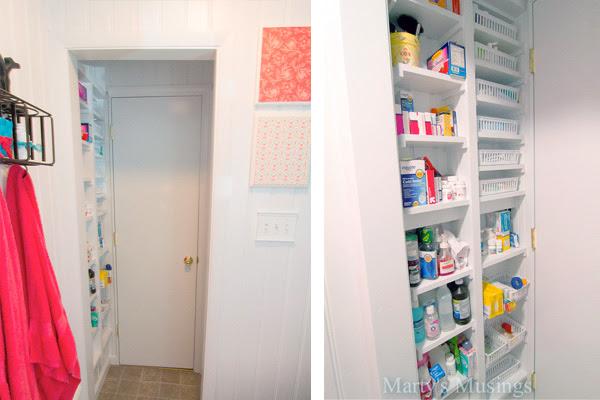Bathroom Doorway Storage