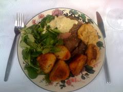 Delicious beef roast