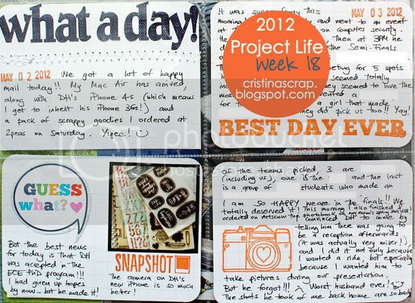 Project Life - Week 18