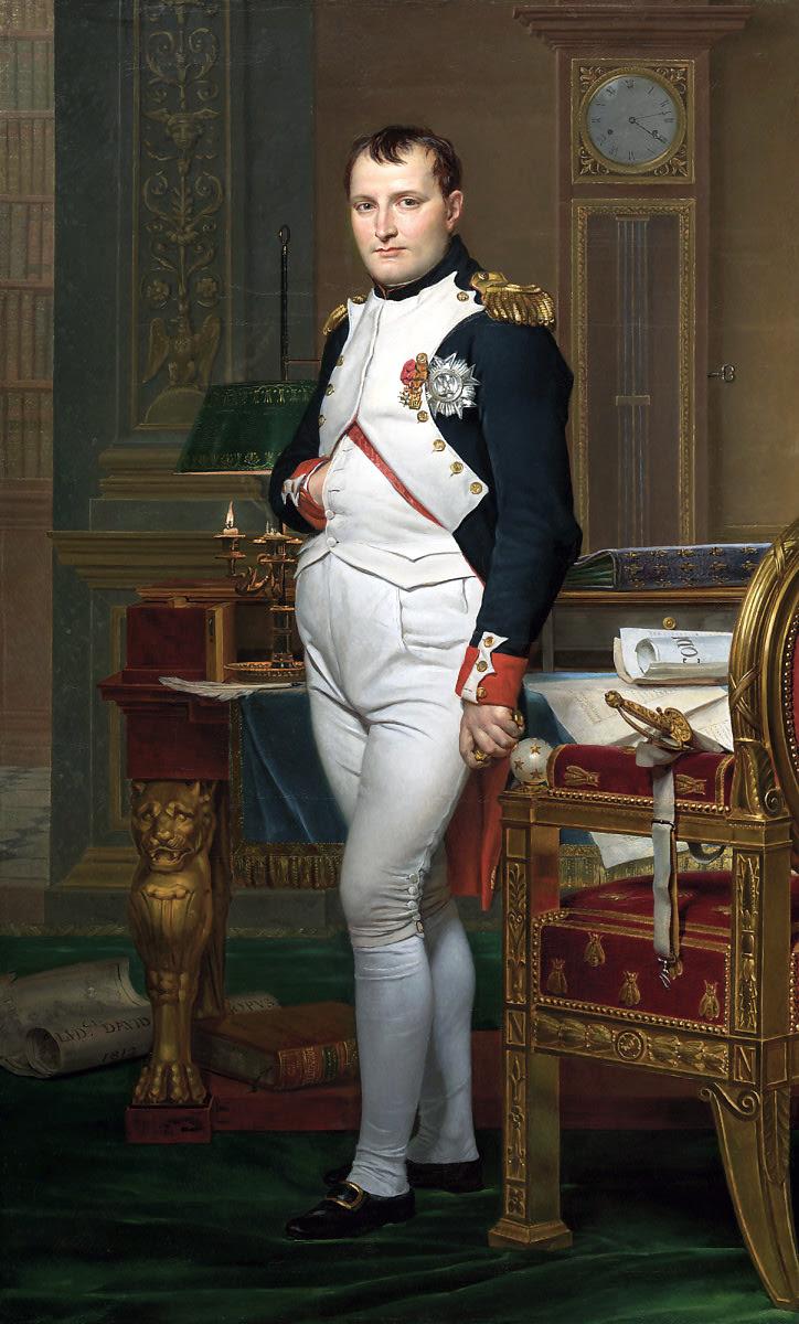 """""""Se eu avançar sigam-me, se eu retroceder matem-me, se eu morrer, vinguem-me."""" Napoleão Bonaparte"""
